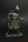 Рядовой башкирского полка 1812 - Оловянный солдатик. Чернение. Высота солдатика 54 мм