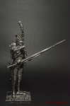 Рядовой гренадер п. линейной пехоты Франия 1812 - Оловянный солдатик. Чернение. Высота солдатика 54 мм