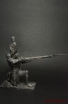 Унтер-офицер Голландскихгренадер Сред Имп гвардии Франция 1812 - Оловянный солдатик. Чернение. Высота солдатика 54 мм