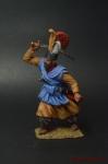 Янычарский офицер, XVIII век. Османская империя - Оловянный солдатик коллекционная роспись 54 мм. Все оловянные солдатики расписываются художником вручную