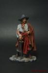 Бартоломью Португалец, 1669 - Оловянный солдатик коллекционная роспись 54 мм. Все оловянные солдатики расписываются художником вручную