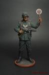 Фельдфебель полевой жандармерии Вермахта (Германия). 1939-45 - Оловянный солдатик коллекционная роспись 54 мм. Все оловянные солдатики расписываются художником вручную