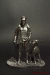 Манфред фон Рихтгофен (Красный барон) - Оловянный солдатик. Чернение. Высота солдатика 54 мм