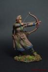 Скифская лучница, 5 в. до н.э. - Оловянный солдатик коллекционная роспись 54 мм. Все оловянные солдатики расписываются художником вручную