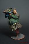 Средневековй повар - Оловянный солдатик коллекционная роспись 54 мм. Все оловянные солдатики расписываются художником вручную
