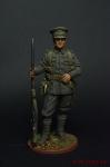 Рядовой пехотного полка. Великобритания, 1914-18 - Оловянный солдатик коллекционная роспись 54 мм. Все оловянные солдатики расписываются художником вручную