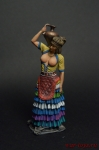 Минойская женщина - Оловянный солдатик коллекционная роспись 54 мм. Все оловянные солдатики расписываются художником вручную