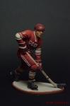 Хоккеист - Оловянный солдатик коллекционная роспись 54 мм. Все оловянные солдатики расписываются художником вручную