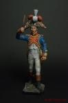 Музыкант. Наполеоновские войны - Оловянный солдатик коллекционная роспись 54 мм. Все оловянные солдатики расписываются художником вручную