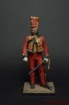 Офицер Молодой Гвардии 2-го Егерского Полка - Оловянный солдатик коллекционная роспись 54 мм. Все оловянные солдатики расписываются художником вручную