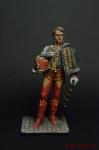 Полковник Барон Луи Франсуа Лежен - Оловянный солдатик коллекционная роспись 54 мм. Все оловянные солдатики расписываются художником вручную
