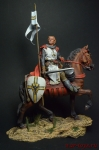 Германский рыцарь 90 мм - Оловянный солдатик коллекционная роспись 90 мм. Все оловянные солдатики расписываются художником вручную