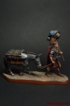 Мул Мария, 125 г. - Оловянный солдатик коллекционная роспись 54 мм. Все оловянные солдатики расписываются художником вручную