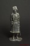 Русский офицер,1905 год - Оловянный солдатик. Чернение. Высота солдатика 54 мм