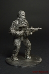 Чубакка, Чуи - Оловянный солдатик. Чернение. 54 мм