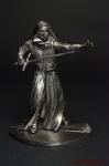 Кайло рен - Оловянный солдатик. Чернение. 54 мм