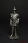 Кайзер Вильгельм - Оловянный солдатик. Чернение. Высота солдатика 54 мм