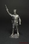 Первая мировая - Оловянный солдатик. Чернение. Высота солдатика 54 мм