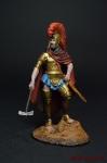 Король Этрусков, Ларс Порсенна, ок.500 до н.э. - Оловянный солдатик коллекционная роспись 54 мм. Все оловянные солдатики расписываются художником вручную