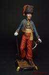 Французский солдат 90 мм - Оловянный солдатик коллекционная роспись 90 мм. Все оловянные солдатики расписываются художником вручную