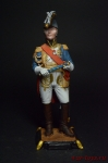 Французский военноначальник 90 мм - Оловянный солдатик коллекционная роспись 90 мм. Все оловянные солдатики расписываются художником вручную