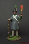 Стрелок баварского ландвера 1814 год - Оловянный солдатик коллекционная роспись 54 мм. Все оловянные солдатики расписываются художником вручную