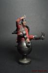 Барон Мюнхгаузен - Оловянный солдатик коллекционная роспись 54 мм. Все оловянные солдатики расписываются художником вручную
