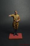 Враг человечества №1 - Адольф - Оловянный солдатик коллекционная роспись 54 мм. Все оловянные солдатики расписываются художником вручную
