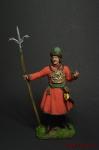 Артиллерист новоприборных полков 1700 г - Оловянный солдатик коллекционная роспись 54 мм. Все оловянные солдатики расписываются художником вручную