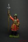 Офицер артиллерийской роты новоприборных полков в венгерском каф - Оловянный солдатик коллекционная роспись 54 мм. Все оловянные солдатики расписываются художником вручную
