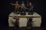Набор оловянных солдатиков Ковбои - Набор оловянных солдатиков 5 шт. Высота солдатиков 54 мм.