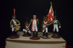 Набор оловянных солдатиков Суворов - Набор оловянных солдатиков 5 шт. Высота солдатиков 54 мм.