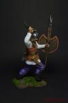 Скифский воин, V-IV вв. до н. э. - Оловянный солдатик коллекционная роспись 54 мм. Все оловянные солдатики расписываются художником вручную