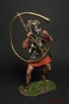 Римский Корницен, I в.н.э. - Оловянный солдатик коллекционная роспись 54 мм. Все оловянные солдатики расписываются художником вручную