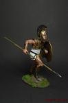 Ахиллес, осада Трои - Оловянный солдатик коллекционная роспись 54 мм. Все оловянные солдатики расписываются художником вручную