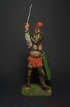 Римский гладиатор - Оловянный солдатик коллекционная роспись 54 мм. Все оловянные солдатики расписываются художником вручную