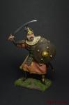 Монгольский воин, 13 век - Оловянный солдатик коллекционная роспись 54 мм. Все оловянные солдатики расписываются художником вручную