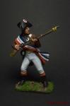 Призывник 30-й полубригады 1800 - Оловянный солдатик коллекционная роспись 54 мм. Все оловянные солдатики расписываются художником вручную
