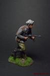 Ефрейтор РККА, 1943-45 - Оловянный солдатик коллекционная роспись 54 мм. Все оловянные солдатики расписываются художником вручную