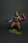 Знатный скифский воин, V-IV вв. до н. э. - Оловянный солдатик коллекционная роспись 54 мм. Все оловянные солдатики расписываются художником вручную