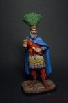 Флавий Ираклий Августа. Византийский Император, 610-641 - Оловянный солдатик коллекционная роспись 54 мм. Все оловянные солдатики расписываются художником вручную