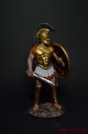 Греческий Гоплит во Фракийском шлеме, V в до н.э. - Оловянный солдатик коллекционная роспись 54 мм. Все оловянные солдатики расписываются художником вручную