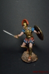 Афины Гоплит в бою - Оловянный солдатик коллекционная роспись 54 мм. Все оловянные солдатики расписываются художником вручную