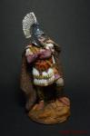 Римский офицер, в конце 2-го по конец 3 века - Оловянный солдатик коллекционная роспись 54 мм. Все оловянные солдатики расписываются художником вручную