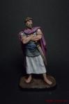 Масинисса, Царь Нумидии, 238-148 до н.э. - Оловянный солдатик коллекционная роспись 54 мм. Все оловянные солдатики расписываются художником вручную