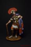 Центурион Квинтус Цесториус Фестус, 1 в. н.э. - Оловянный солдатик коллекционная роспись 54 мм. Все оловянные солдатики расписываются художником вручную