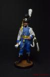 Офицер Конной Лейб-гвардии. Швеция, 1807 г. - Оловянный солдатик коллекционная роспись 54 мм. Все оловянные солдатики расписываются художником вручную