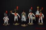 Набор оловянных солдатиков Наполеон - Набор оловянных солдатиков 5 шт. Высота солдатиков 54 мм.
