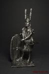 Карфагенский военачальник, III век до н.э. - Оловянный солдатик. Чернение. Высота солдатика 54 мм