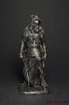 Дакийский воин с косами, II век н.э. - Оловянный солдатик. Чернение. Высота солдатика 54 мм